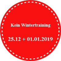 Kein Wintertraining